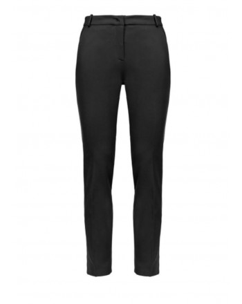 PINKO - BELLO trousers in viscose - Black