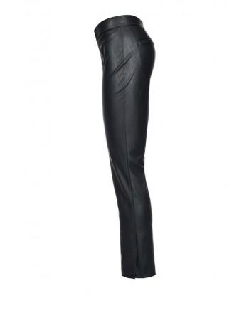 PINKO - Pantalone TORRONE in similpelle - Nero