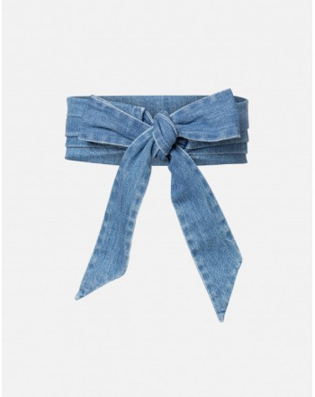 PHILOSOPHY DI LORENZO SERAFINI - Denim Belt - Denim