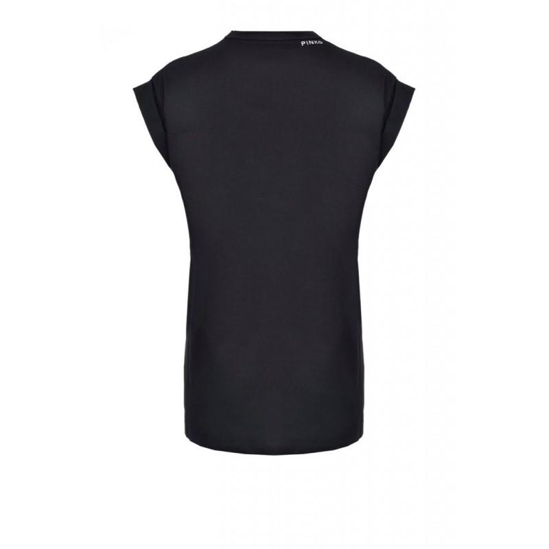 PINKO - T-Shirt BOMBOLONE in cotone - Nero