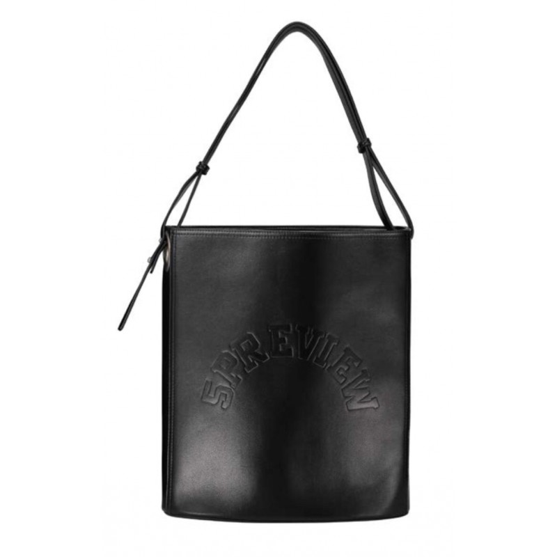 5 PREVIEW - MINES  Bucket Bag- Black