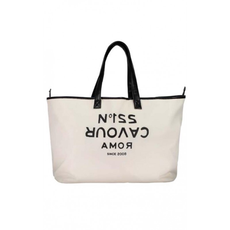 5 PREVIEW - NIZZA Shopping Bag- Ivory