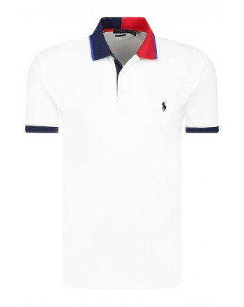 POLO RALPH LAUREN - Nautical Polo short slevee cod 710791004 color white