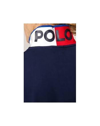 POLO RALPH LAUREN - Nautical Polo Short Sleeve Art 710791004 Color Blu Navy