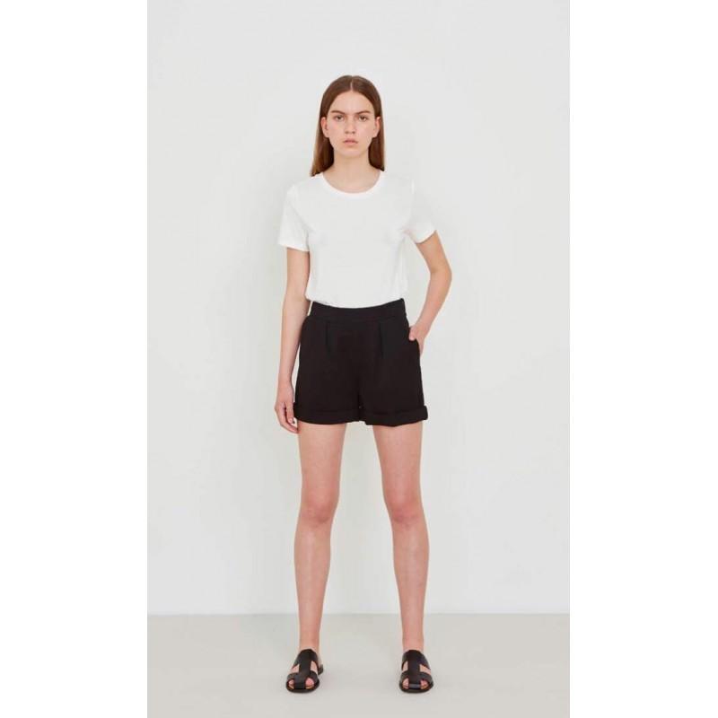 5 PREVIEW - COLLETTE  Shorts- Black