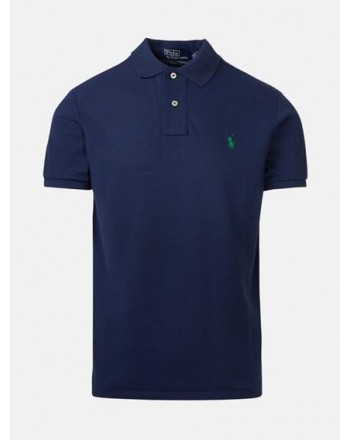 POLO RALPH LAUREN - Polo in Cotone Ecosostenibile  - Newport Navy