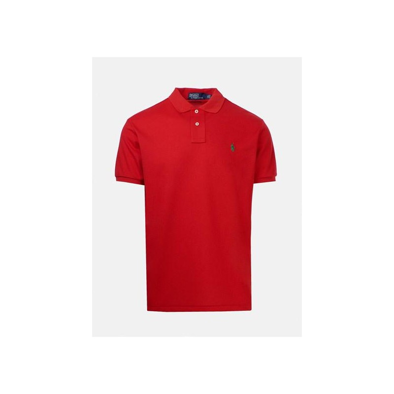 POLO RALPH LAUREN - Eco Sustainable Cotton Polo - Red