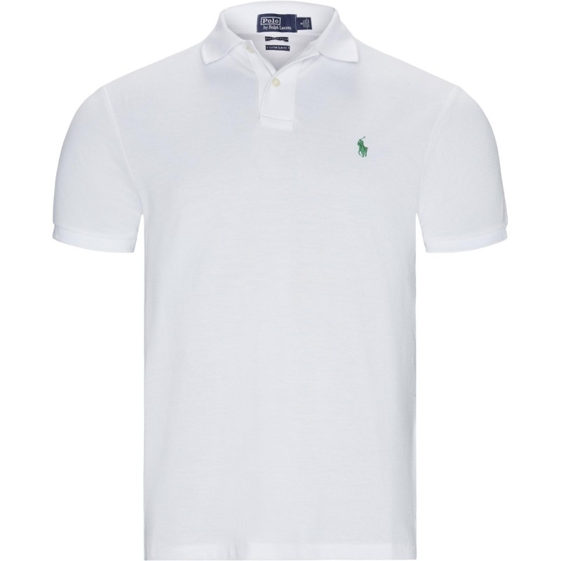 POLO RALPH LAUREN - Eco Sustainable Cotton Polo - White
