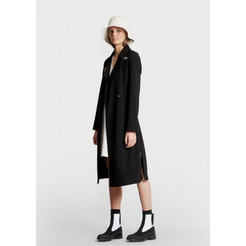 FAY - Viscose coat -Black
