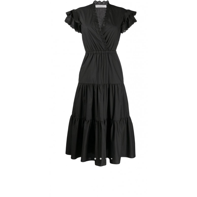 PHILOSOPHY di LORENZO SERAFINI  - St Gallen lace Dress - Black