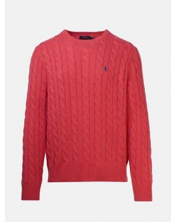 POLO RALPH LAUREN - Cotton Beaded Knit - Rosette Heather