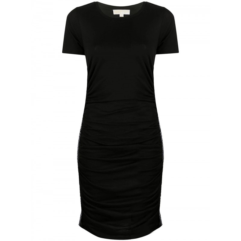 MICHAEL by MICHAEL KORS - Side logo Dress - Black