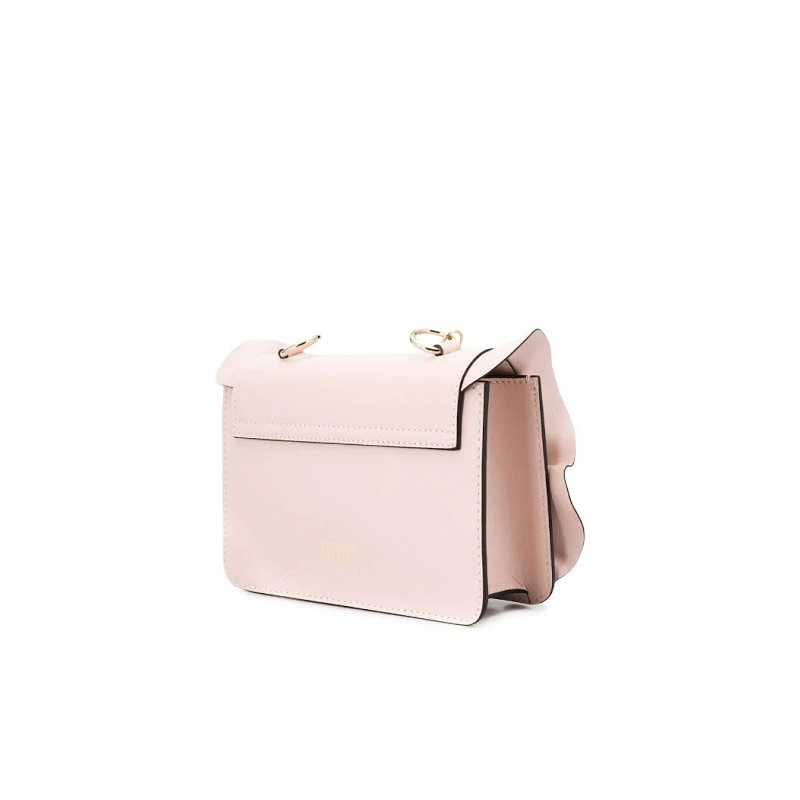 RED VALENTINO - ROCK RUFFLES shoulder bag - Nude