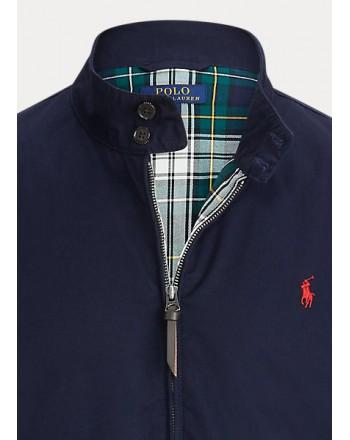POLO RALPH LAUREN - Zip Jacket  Bomber cotton blue
