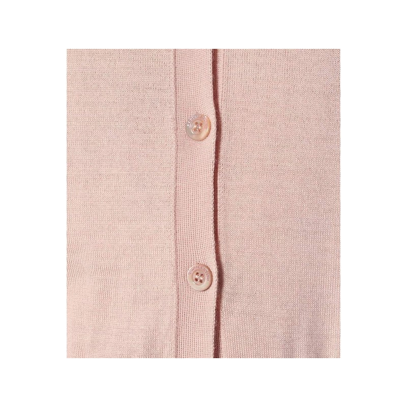 RED VALENTINO - Micro Cardigan - Rose
