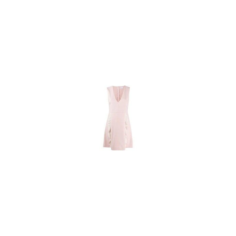 RED VALENTINO - Abito in Cady - Rose/Avorio