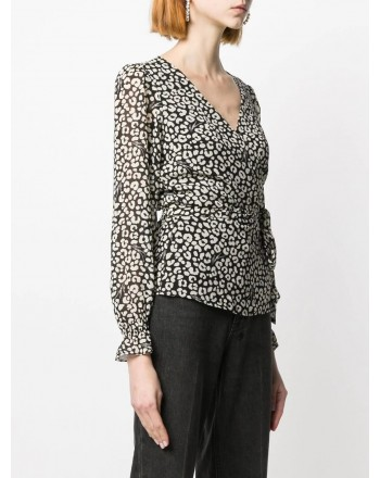 MICHAEL BY MICHAEL KORS - Shirt print Leo - Black/Bone