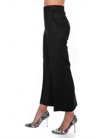 PINKO - EDMOND trouser in wool and viscose - Black