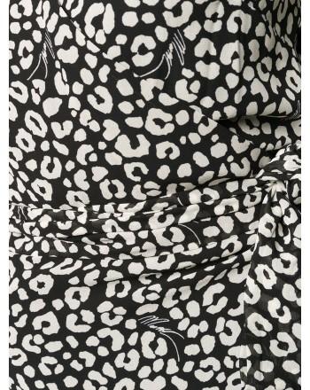 MICHAEL BY MICHAEL KORS - Maglia stampa leopardo - Nero/Bone