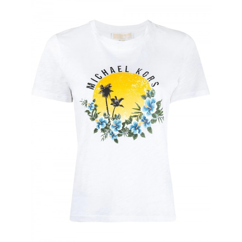 MICHAEL BY MICHAEL KORS - T-Shirt eco sostenibile - Bianco