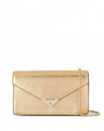 MICHAEL by MICHAEL Kors- MD CLUTCH Bag- Pale Gold