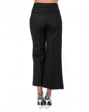PINKO - EDMOND trouser in wool and viscose - Black