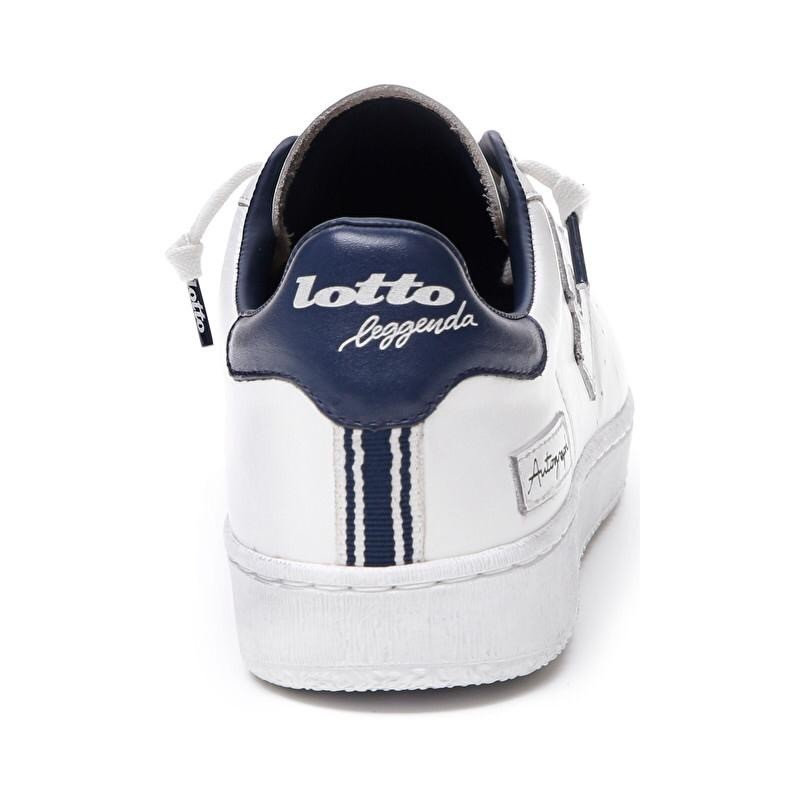 LOTTO LEGGENDA - Sneakers AUTOGRAPH- Bianco/Dress Blue