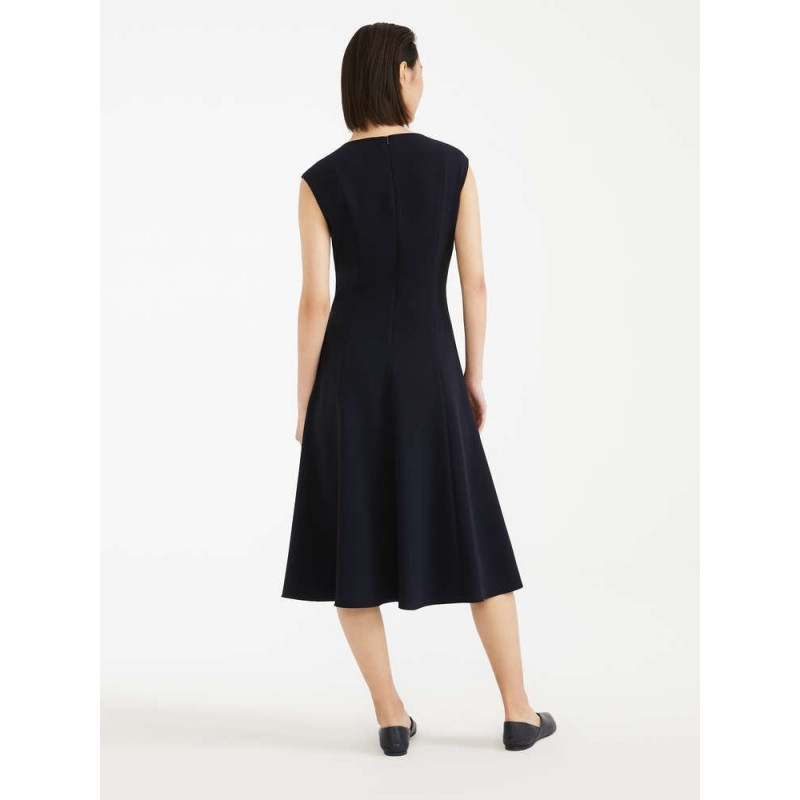 MAX MARA STUDIO - PANAREA Cady  Dress- Blue