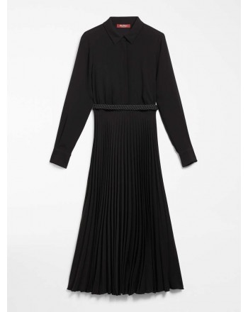 MAX MARA STUDIO - CARMINE Midi Dress- Black