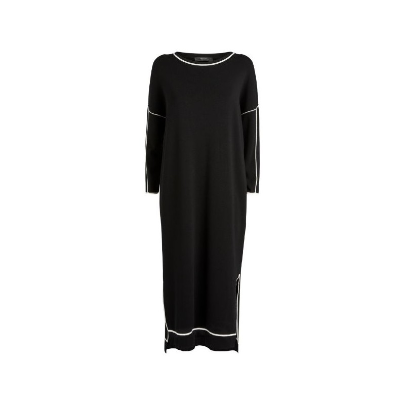 MAX MARA WEEKEND - Long dress with slits - Black