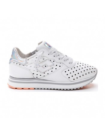 LOTTO LEGGENDA - SNEAKERS Mod SLICE- SNOW WHITE