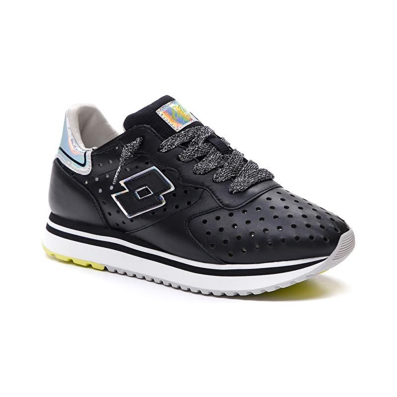 LOTTO LEGGENDA - SNEAKERS Mod SLICE BLACK- All Black