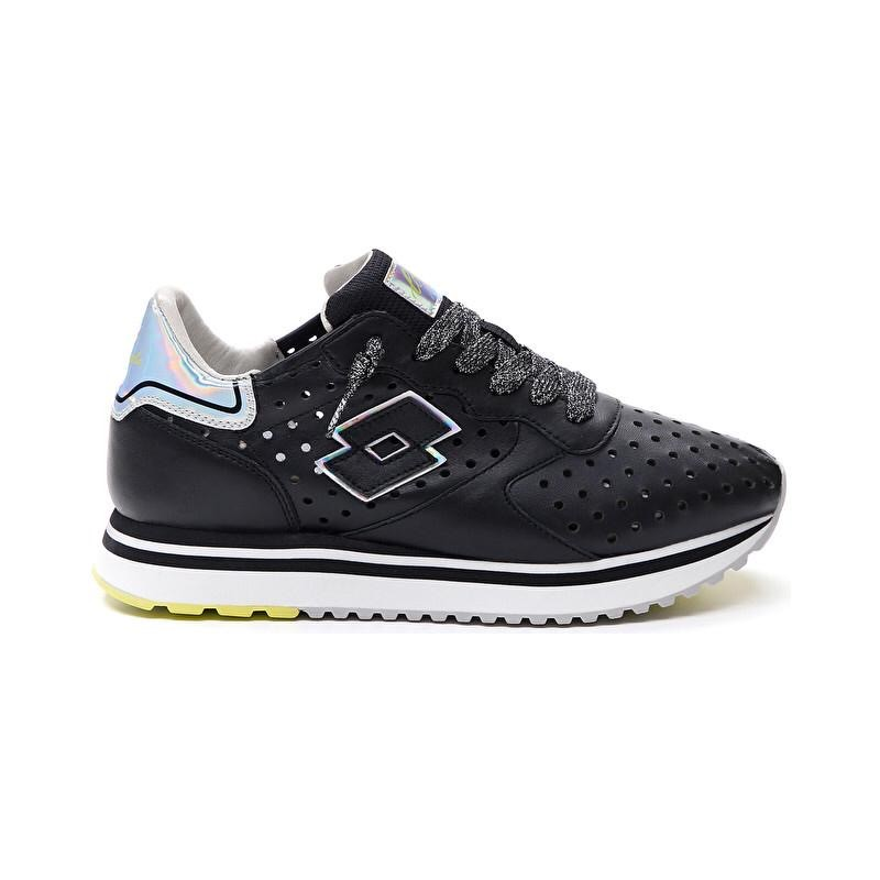 LOTTO LEGGENDA - SNEAKERS  Mod SLICE BLACK-All Black