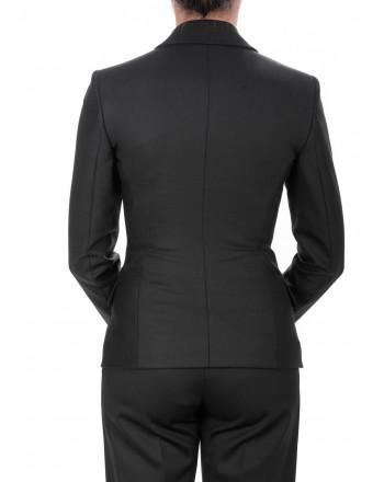 PINKO - Two Buttons Wool Jacket PETRONIO - Black