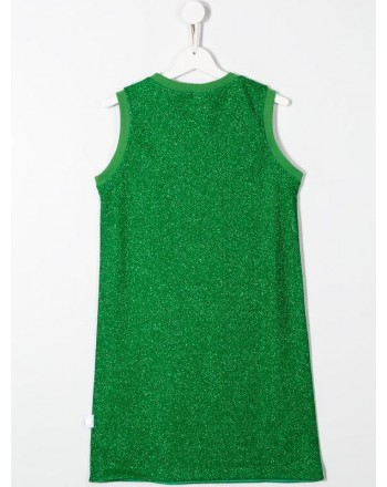 GCDS - Baby - ABITO lurex  colore verde