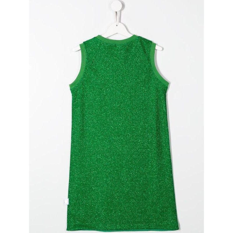 GCDS- Baby - ABITO lurex color green