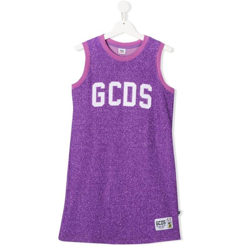 GCDS- Baby - ABITO Lurex color purple