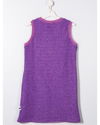 GCDS- Baby - ABITO Lurex color purple