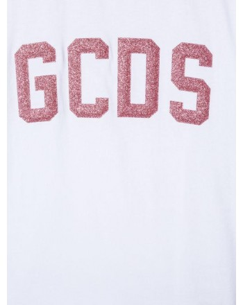 GCDS - Baby - T-Shirt  manica carta con logo  art 22738