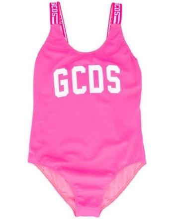 GCDS - Baby -  COSTUME INTERO bretelle logo ricamato art 22621