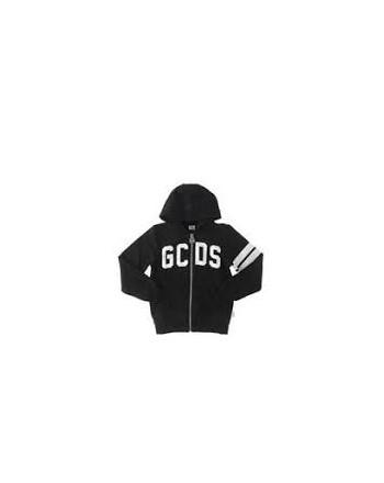 GCDS - Baby - FELPA ZIP  STAMPA LOGO art 22520