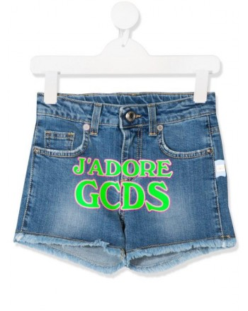 GCDS - Baby - DENIM LOGO SHORT art 23987