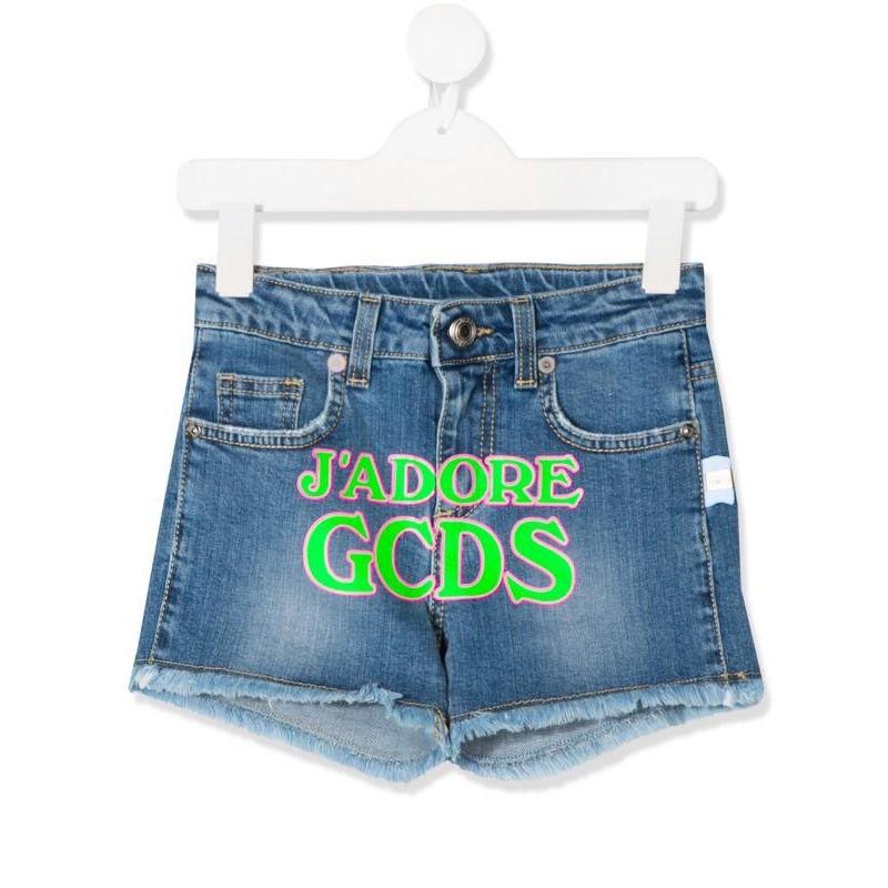 GCDS - Baby - DENIM LOGO SHORT art 23987