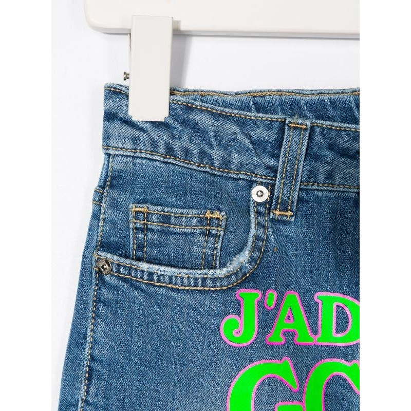 GCDS - Baby -  SHORT DENIM LOGO art 23987