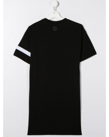 GCDS - Baby - MAXI T-SHIRT DRESS WITH LOGO