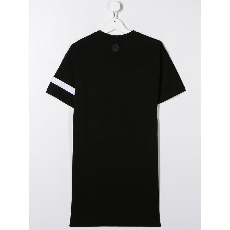 GCDS - Baby - MAXI T-SHIRT DRESS WITH LOGO