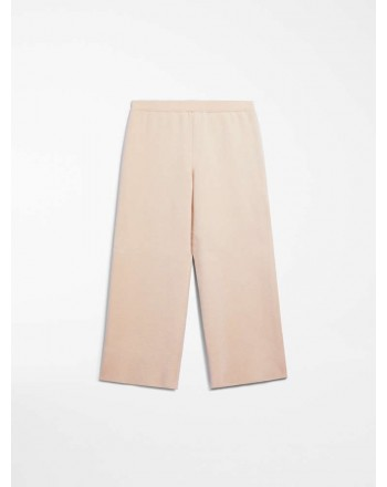 MAX MARA STUDIO - PALLA Full Milano Trousers- Nude