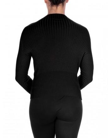 PINKO - Fireballer jersey in Cashnere - Black