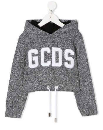 GCDS - Baby - FELPA LUREX CORTA