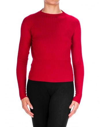 PINKO - Fireballer jersey in Cashnere - Red